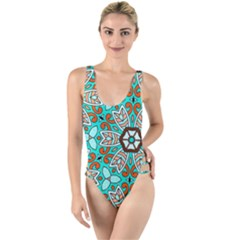 Df Kyo Shun High Leg Strappy Swimsuit by deformigo