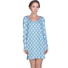 Df Albion Star Long Sleeve Nightdress by deformigo