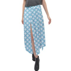 Df Albion Star Velour Split Maxi Skirt by deformigo