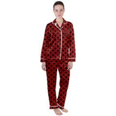 Df Loregorri Satin Long Sleeve Pyjamas Set by deformigo