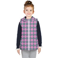 Df Izpilikua Estili Kids  Hooded Puffer Vest by deformigo