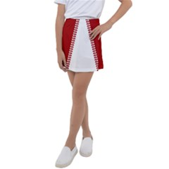Canada Hoodie 6500 Kids  Tennis Skirt by CanadaSouvenirs
