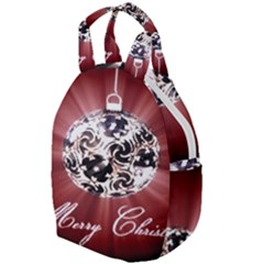 Merry Christmas Ornamental Travel Backpacks by christmastore