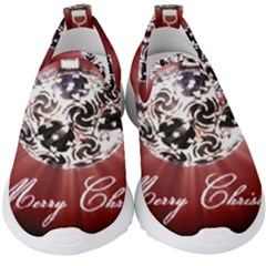 Merry Christmas Ornamental Kids  Slip On Sneakers by christmastore