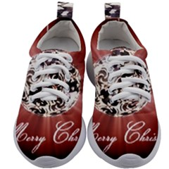 Merry Christmas Ornamental Kids Athletic Shoes