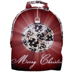 Merry Christmas Ornamental Mini Full Print Backpack by christmastore