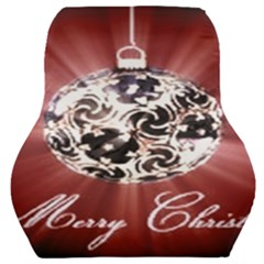 Merry Christmas Ornamental Car Seat Back Cushion  by christmastore