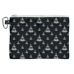 Buddhism Motif Print Pattern Design Canvas Cosmetic Bag (xl)