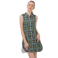 Df Otavio Zeferino Sleeveless Shirt Dress by deformigo