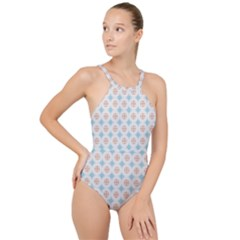 Df Selina Walter High Neck One Piece Swimsuit by deformigo