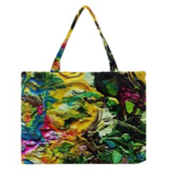 Alice Walk 1 1 Zipper Medium Tote Bag by bestdesignintheworld