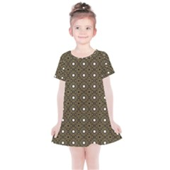 Df Found Ancestors Kids  Simple Cotton Dress by deformigo