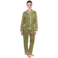 Df Danny s Dance Satin Long Sleeve Pyjamas Set by deformigo