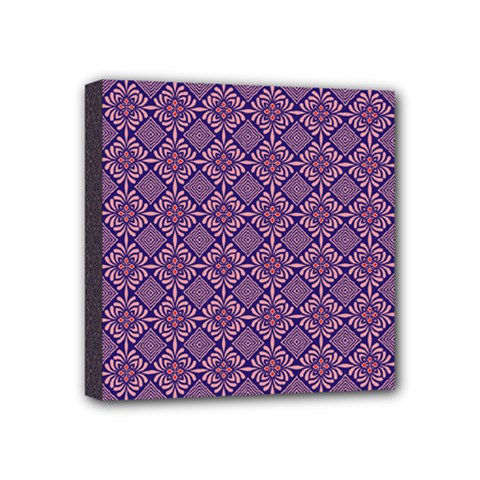 Df Vibrant Therapy Mini Canvas 4  X 4  (stretched) by deformigo