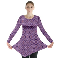 Df Vibrant Therapy Long Sleeve Tunic  by deformigo