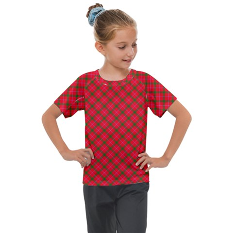 Holiday Kids  Mesh Piece Tee by dressshop