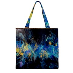 Luminescence Zipper Grocery Tote Bag