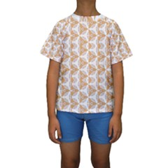 Df Giovanni Di Graziano Kids  Short Sleeve Swimwear by deformigo