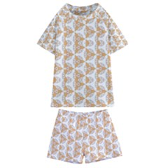 Df Giovanni Di Graziano Kids  Swim Tee And Shorts Set by deformigo