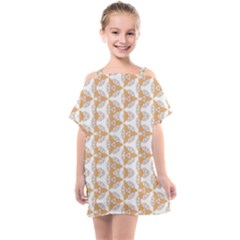 Df Giovanni Di Graziano Kids  One Piece Chiffon Dress by deformigo