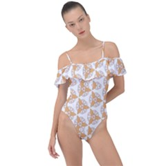Df Giovanni Di Graziano Frill Detail One Piece Swimsuit by deformigo