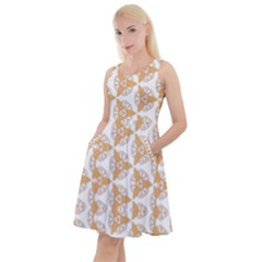 Df Giovanni Di Graziano Knee Length Skater Dress With Pockets by deformigo