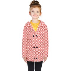 Df Persimmon Kids  Double Breasted Button Coat by deformigo