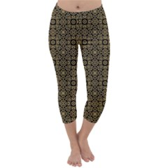 Df Nusa Penida Capri Winter Leggings  by deformigo