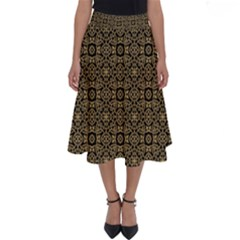 Df Nusa Penida Perfect Length Midi Skirt by deformigo