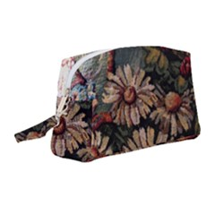 Old Embroidery 1 1 Wristlet Pouch Bag (medium)
