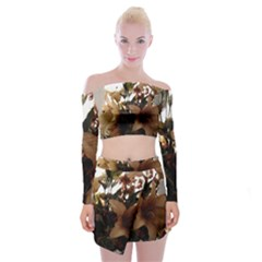 Lilies 1 1 Off Shoulder Top With Mini Skirt Set