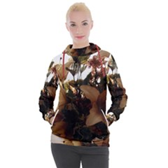 Lilies 1 1 Women s Hooded Pullover