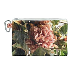 Begonia 1 1 Canvas Cosmetic Bag (large) by bestdesignintheworld