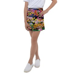 Alice Walk 1 2 Kids  Tennis Skirt by bestdesignintheworld