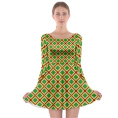 Df Irish Wish Long Sleeve Skater Dress by deformigo