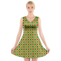 Df Irish Wish V-neck Sleeveless Dress by deformigo