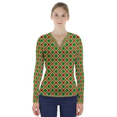 Df Irish Wish V-neck Long Sleeve Top by deformigo