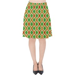 Df Irish Wish Velvet High Waist Skirt by deformigo