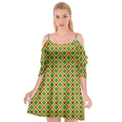 Df Irish Wish Cutout Spaghetti Strap Chiffon Dress by deformigo