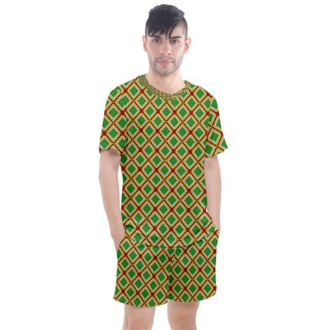 Df Irish Wish Men s Mesh Tee And Shorts Set by deformigo