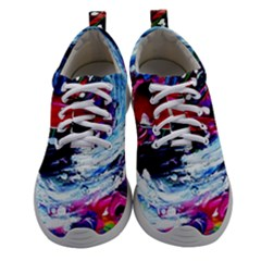 Red Airplane 1 1 Women Athletic Shoes by bestdesignintheworld