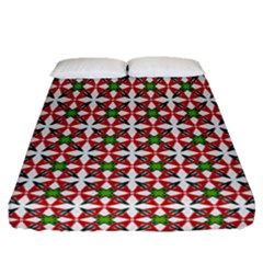 Df Molla Fitted Sheet (queen Size) by deformigo