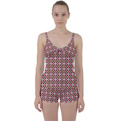 Df Molla Tie Front Two Piece Tankini by deformigo