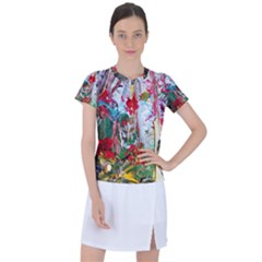 Eden Garden 1 6 Women s Sports Top