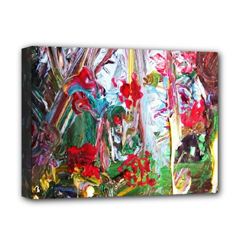 Eden Garden 1 6 Deluxe Canvas 16  X 12  (stretched)