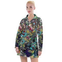 Forest 1 1 Women s Long Sleeve Casual Dress