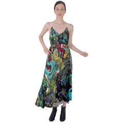 Forest 1 1 Tie Back Maxi Dress by bestdesignintheworld