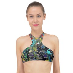 Forest 1 1 High Neck Bikini Top