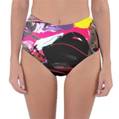 Consolation 1 1 Reversible High-waist Bikini Bottoms