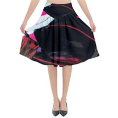 Consolation 1 1 Flared Midi Skirt